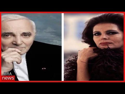 Amália Rodrigues e Charles Aznavour viveram um romance ardente