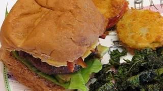 Betty's Succulent Avocado Bacon Cheeseburger