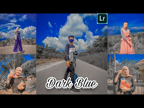 Tutorial Edit Foto Ala Selebgram Filter Dark Blue | LIGHTROOM TUTORIAL