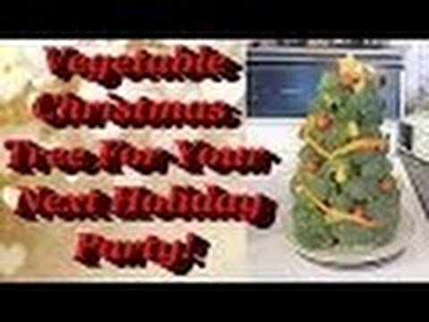 christmas tree veggie tray 2013 flash back