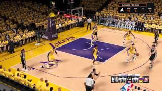 NBA 2K15 Lakers vs Spurs