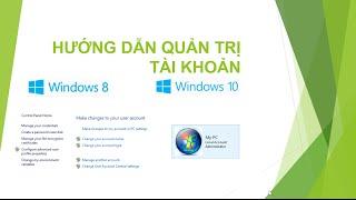 [Hướng dẫn windows 8,10] Hướng dẫn đặt mật khẩu cho windows 8, window 10