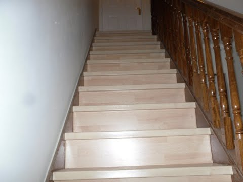 Stair renovation quick step classic laminate flooring for Quick step flooring ireland