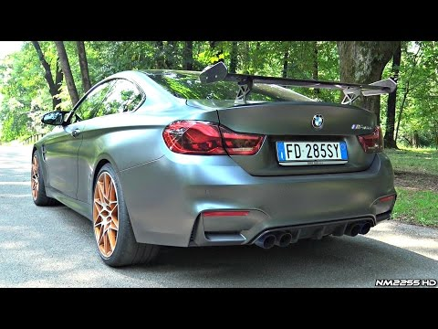 2016 BMW M4 GTS INSANE Sound! - Start Up, Revs & Launch Control Burnout!