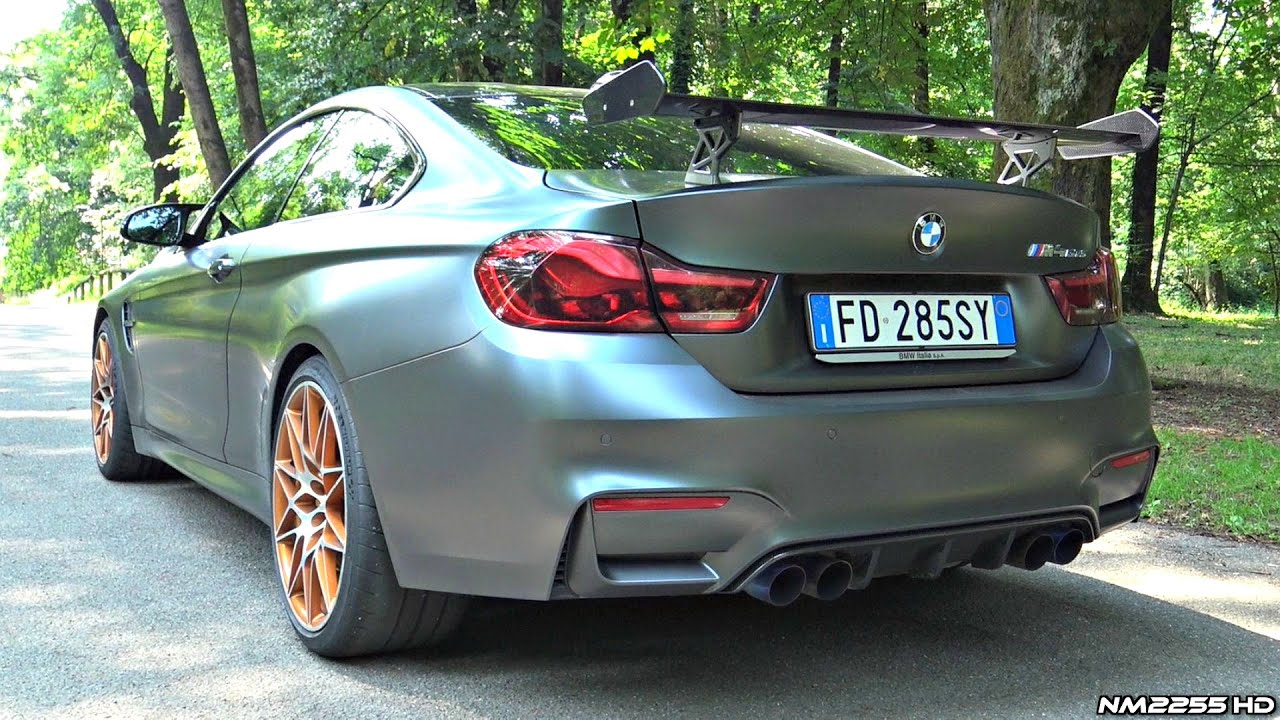 2016 bmw m4 gts insane sound start up revs launch control burnout youtube. Black Bedroom Furniture Sets. Home Design Ideas