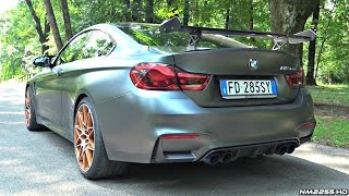 2016 BMW M4 GTS INSANE Sound! - Start Up, Revs & Launch Control Burnout!
