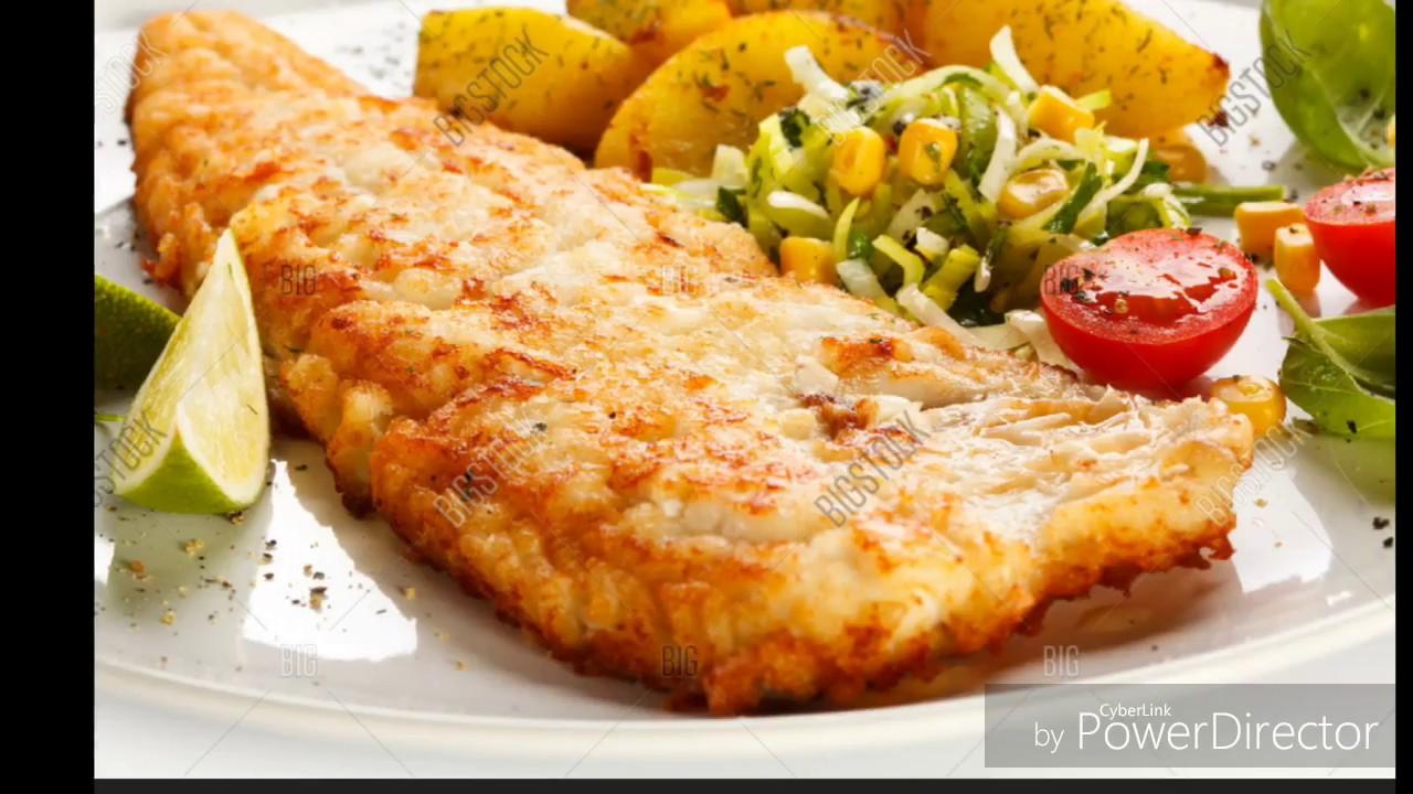 أسهل و ألذ طبخة سمك filet de sole & pomme de terre au four