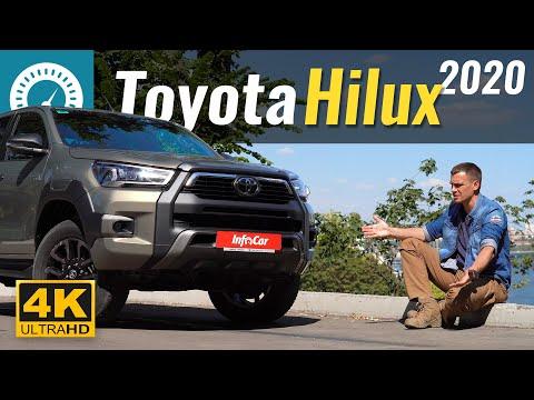 Toyota Hilux 2020. Новый мотор для Prado?