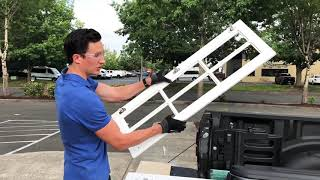 How to cut and install glass into cabinet doors