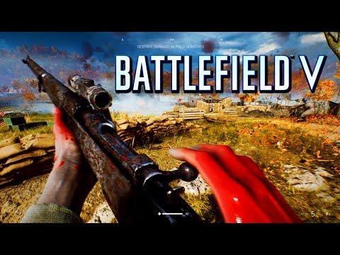Battlefield 5: New Single Player Gameplay! (Battlefield V)