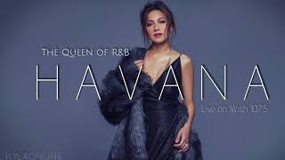 """Kyla sings """"Havana"""" (Live on Wish 107.5)"""