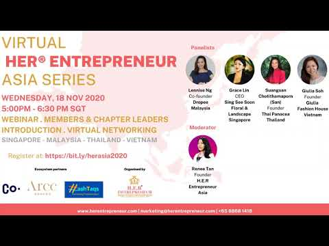 HER® Entrepreneur Asia Series 18 November 2020: Discovering the hard truths in business