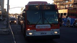 nice bus orion vll 3rd generation cng 1851 n1 bus hillside avenue 168th street