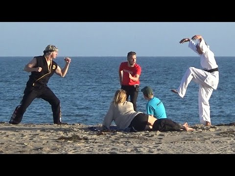 KARATE KID PRANK