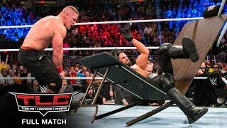 FULL MATCH - John Cena vs. Seth Rollins – Tables Match: WWE TLC 2014