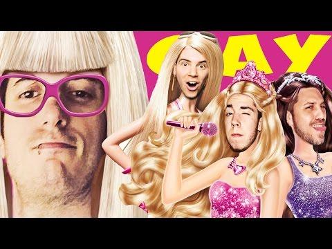 COME DIVENTARE OMOSESSUALI! - Karaoke Party (Barbie Girl) W/ Illuminati Crew