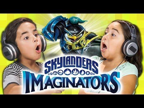 MAGICAL BATTLES! Skylanders Imaginators (Kids React: Gaming)
