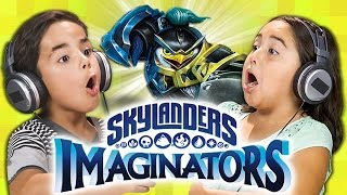 MAGICAL BATTLES! Skylanders Imaginators (Kids React: Gaming)