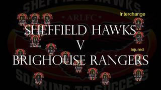 Rugby League U14s Sheffield Hawks V Brighouse Rangers 20 May 2018