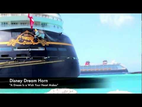 DISNEY DREAM PASSING DISNEY FANTASY AT CASTAWAY CAY
