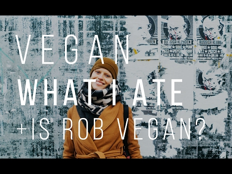 WHAT I ATE TODAY + IS ROB VEGAN? | Good Eatings