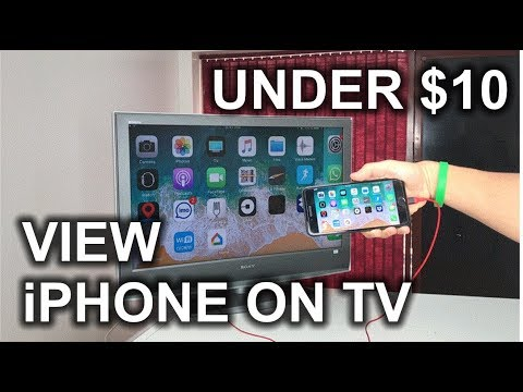 How to View your iPhone on a TV - HDMI Cable