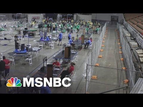 'Unhinged': Sham Arizona Audit Is Trump 'Grift'   MSNBC's The Beat
