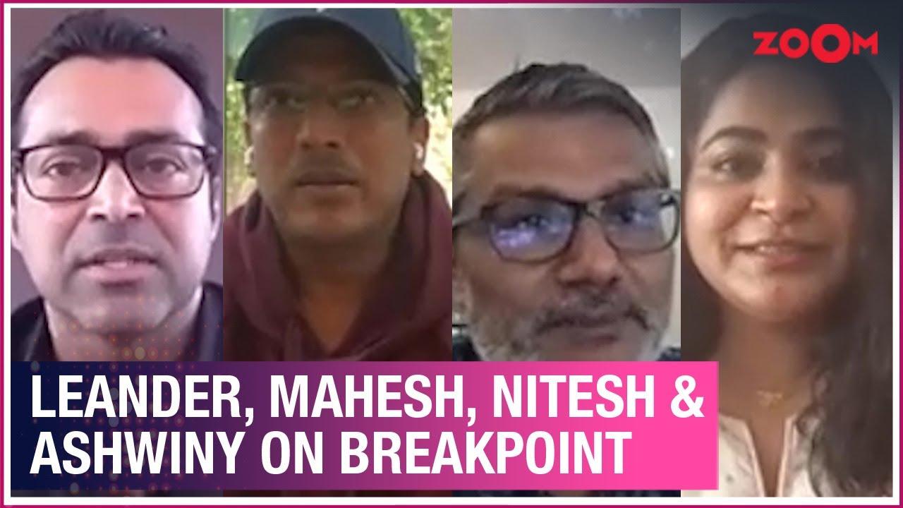Leander Paes, Mahesh Bhupathi, Nitesh Tiwari & Ashwiny Iyer Tiwari on BreakPoint & more | Exclusive