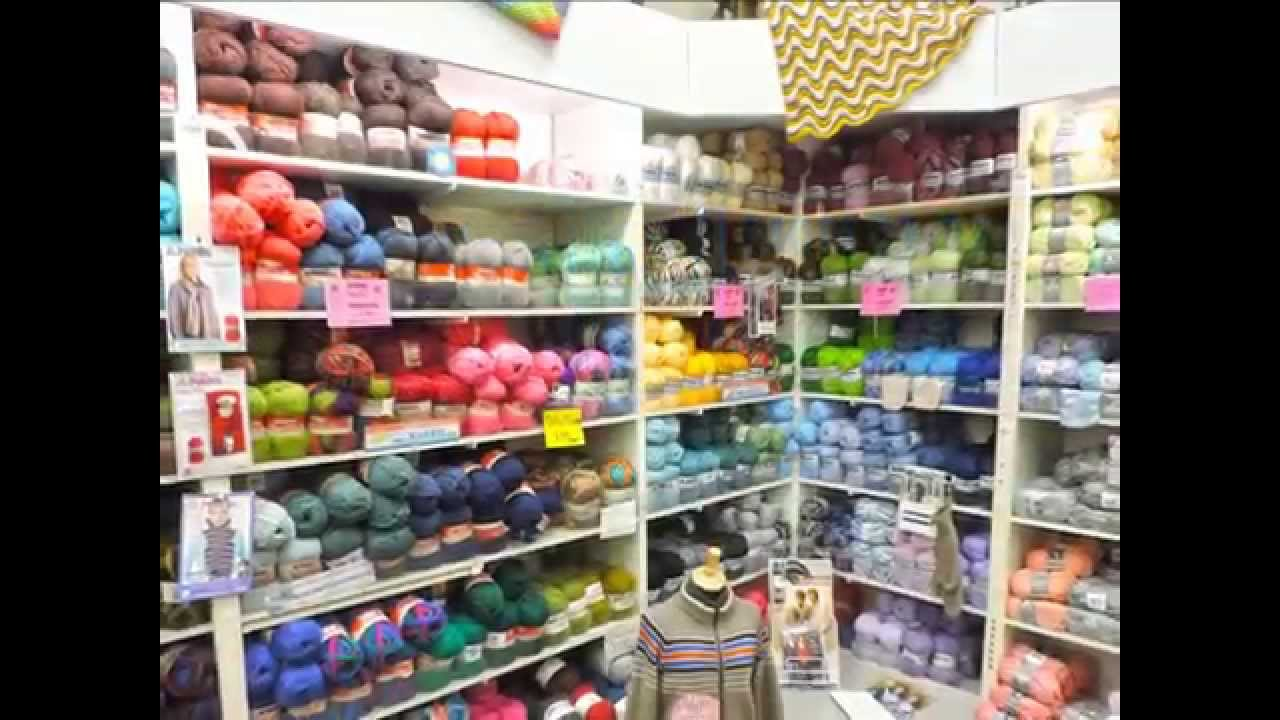 Spinrite Yarn Factory Outlet & Spinrite Yarn Factory Outlet - YouTube