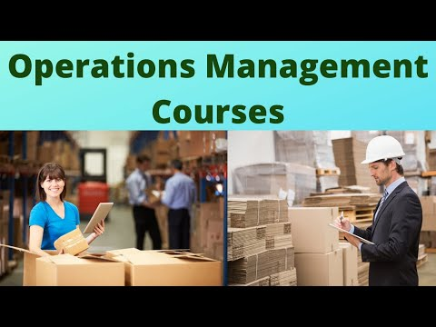 Operations Management Course | Operations Management Training