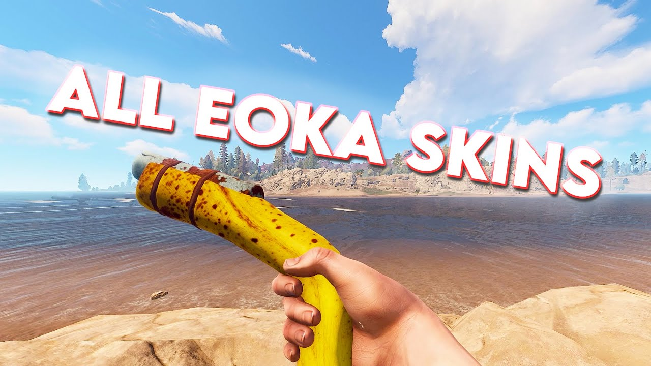 All Eoka Pistol Skins - Rust - YouTube