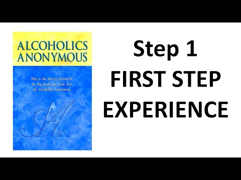 Alcoholics anonymous experience