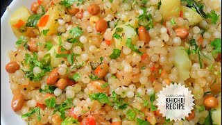 Sabudana Khichdi Recipe for fasting - Navratri Vrat Special Upvas Recipe - How to make Sabu Dana