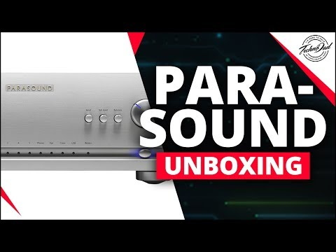 Parasound Halo Integrated Amplifier | Unboxing, Features, and DSD Setup