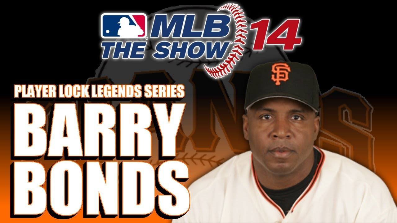 Mlb 14 the show player lock legend ep 18 barry bonds youtube