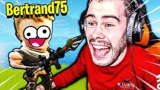 J'AI PRANK UN NOOB AU LANCE ROQUETTE SUR FORTNITE BATTLE ROYALE !!!