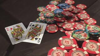 I flop set & get jammed on. Then I flop BOAT, & he DOES IT AGAIN! | Poker Vlog 109