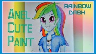 Я Рисую Rainbow Dash | Радуга Деш | Equestria Girls | Девочки из Эквестрии(Всем Привет! В этом видео я рисую Радугу Деш или Рейнбоу Деш:) Надеюсь вам понравится это видео) Приятного..., 2014-09-27T12:35:58.000Z)