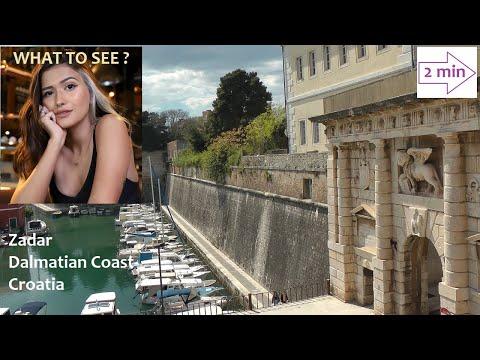 WHAT TO SEE IN Zadar, Dalmatian Coast, Croatia. (2 min. in Europe Collection)