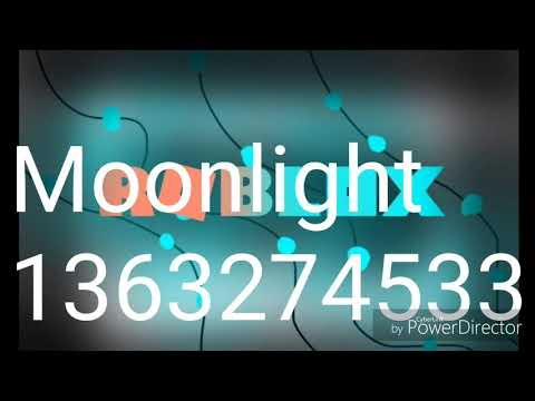 Roblox Moonlight Id Roblox Id Codes 1 Youtube