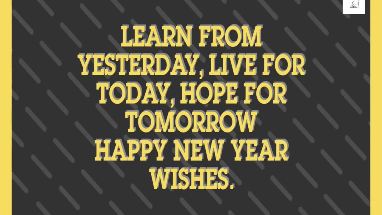 Happy New Year Happy New Year 2018