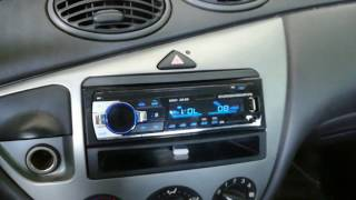 JSD - 520 Bluetooth Car Audio Stereo MP3 Player Radio / GearBest
