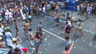 Porradaria no Bloco da Preta Gil - Rio de Janeiro - Carnaval 2012
