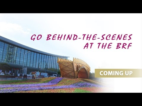 Go behind-the-scenes at the BRF