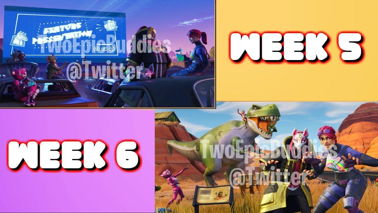Fortnite Season 5 Week 5 And Week 6 Loading Screen Free Tiers