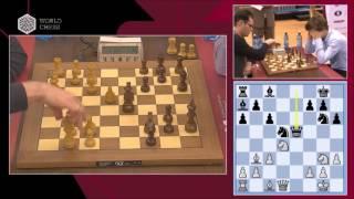 P. Leko - M. Carlsen. Blitz