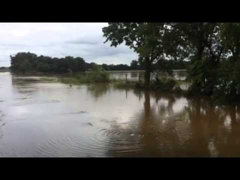 Garvin County roads flooded