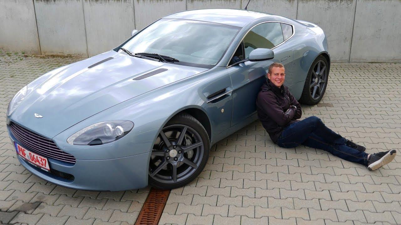 Aston Martin Vantage V8 4 3l Review Und Fahrbericht Fahr Doch Hd Youtube