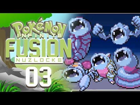 WHAT THE HECK - Pokemon Infinite Fusion Nuzlocke PART 3!