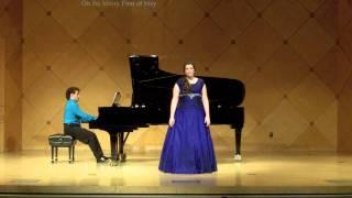 Haylee Reynolds, Senior Recital- Howells #4-5